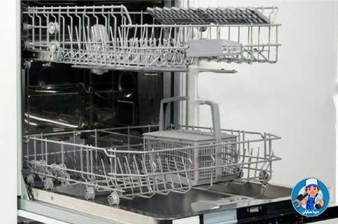 چرا ماشین ظرفشویی آبگیری نمی کند