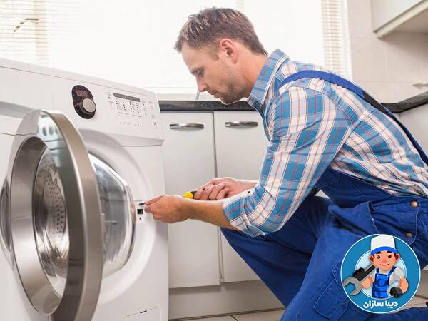 خرابی میکروسوئیچ و قفل درب ماشین لباسشویی