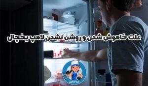 علت خاموش شدن و روشن نشدن لامپ یخچال