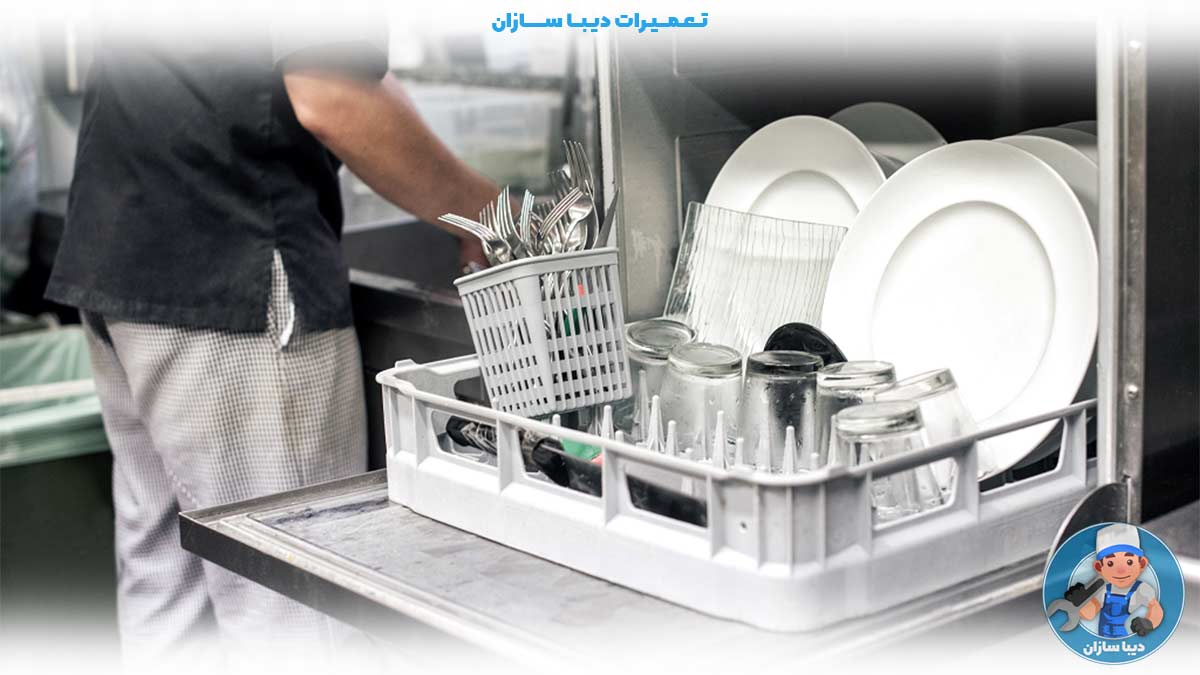 عیب یابی ماشین ظرفشویی ال جی در منزل